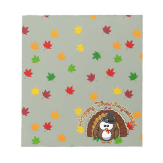 turkowl - Thanksgiving cards and more Notepad