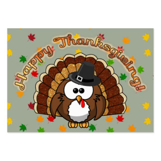turkowl - Thanksgiving cards and more Pack Of Chubby Business Cards
