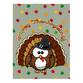 turkowl - Thanksgiving cards and more Postcard