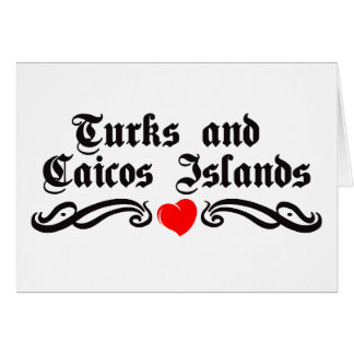 Turks and Caicos Islands Card