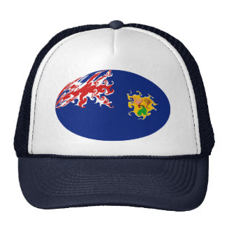 Turks and Caicos Islands Gnarly Flag Hat