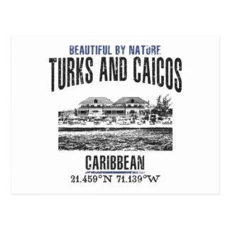 Turks and Caicos Islands Postcard