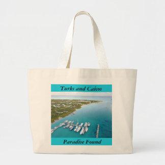 Turks and Caicos Paradise Found bag