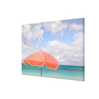 Turks and Caicos, Providenciales Island, Grace Canvas Print