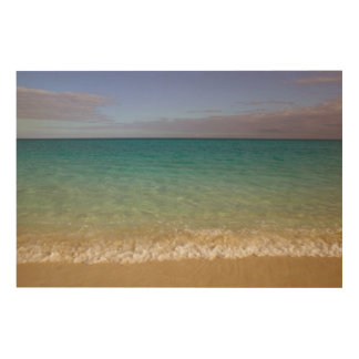 Turks and Caicos, Providenciales Island Wood Canvases