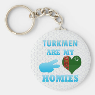 Turks are my Homies Keychains