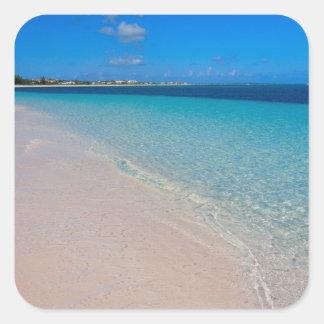 Turks & Caicos Club, Providenciales, Turks & Square Sticker
