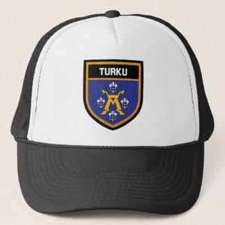 Turku Flag f Trucker Hat