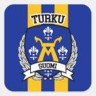 Turku Square Sticker