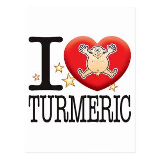 Turmeric Love Man Postcard