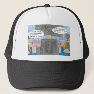 Turn Around Mission Trucker Hat