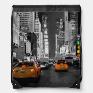 Turn bag bag bag New York Times Square Cab