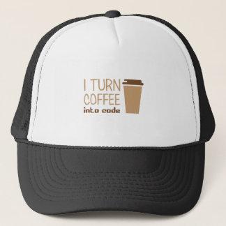 Turn Coffee Into Code Trucker Hat