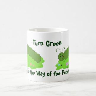Turn Green Coffee Mug
