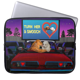 TURN HER AND SMOOCH LAPTOP SLEEVE
