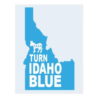 Turn Idaho Blue Postcard | Vote State Democrat