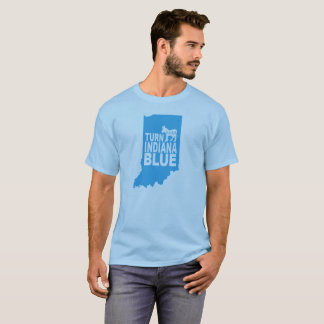 Turn Indiana Blue T-Shirt   Progressive State