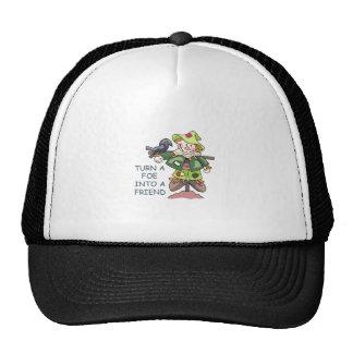 Turn Into A Friend Trucker Hat