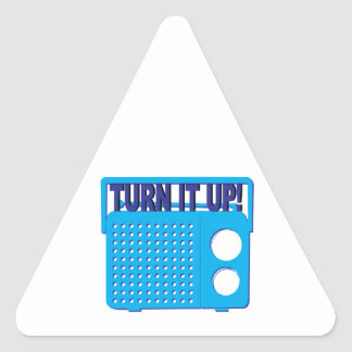 Turn it Up Stickers