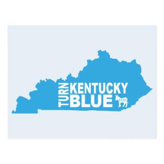 Turn Kentucky Blue Postcard | Vote State Democrat