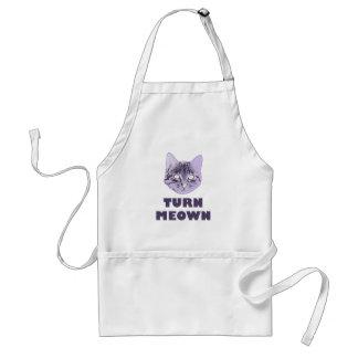 Turn Meown Aprons