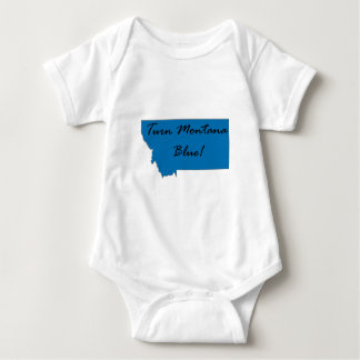 Turn Montana Blue! Democratic Pride! Baby Bodysuit