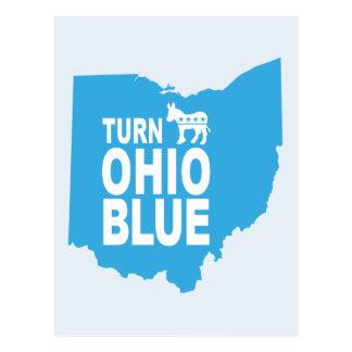 Turn Ohio Blue Postcard   Vote State Progressive
