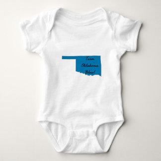 Turn Oklahoma Blue! Democratic Pride! Baby Bodysuit