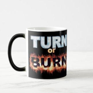 Turn or Burn Mugs