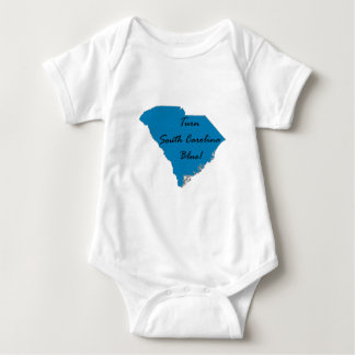 Turn South Carolina Blue! Democratic Pride! Baby Bodysuit