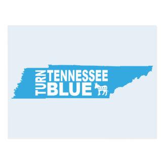 Turn Tennessee Blue Postcard | Vote State Democrat
