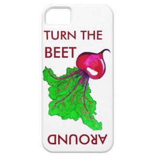 Turn The Beet Around Phone Case