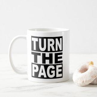 Turn the Page Coffee Mug