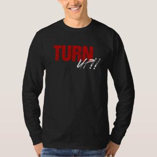 Turn UP Long Sleeve Shirt (black/red)