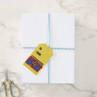Turn up the Beat gift tags