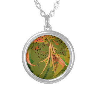Turn Up the Heat-d Silver Plated Necklace