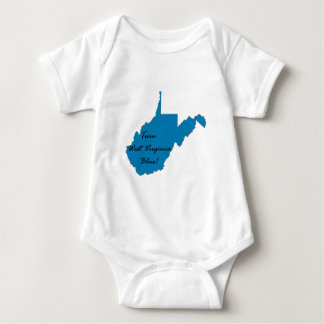 Turn West Virginia Blue! Democratic Pride Baby Bodysuit