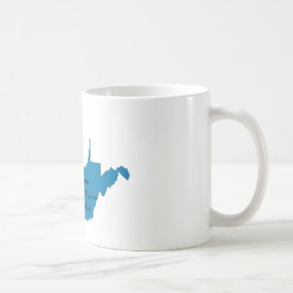 Turn West Virginia Blue! Democratic Pride Coffee Mug