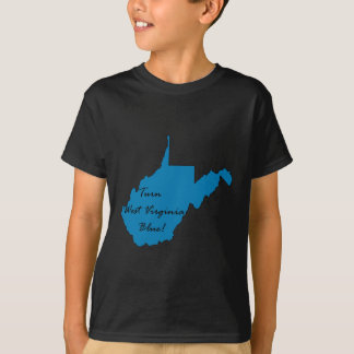 Turn West Virginia Blue! Democratic Pride T-Shirt