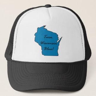 Turn Wisconsin Blue! Democratic Pride! Trucker Hat
