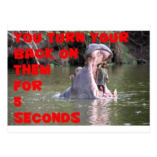 turn your back.jpg postcard