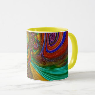 """Turnabout"" 11 ounce Coffee Mug"