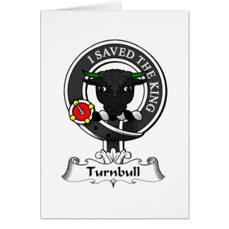 Turnbull Clan Crest Greeting Card