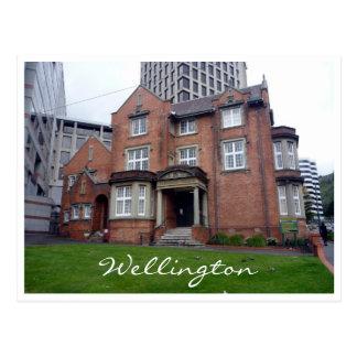 turnbull house wellington postcard