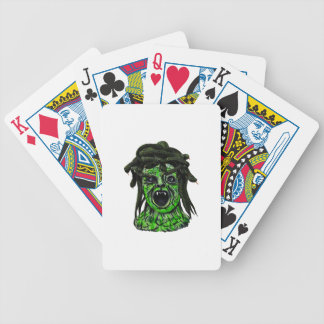 Turned to Stone Bicycle Playing Cards
