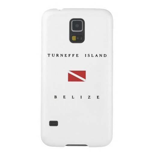Turneffe Island Belize Scuba Dive Flag Galaxy S5 Covers
