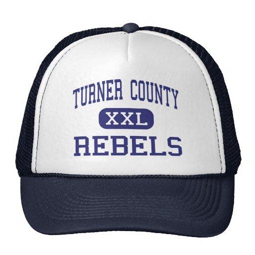 Turner County - Rebels - High - Ashburn Georgia Trucker Hat