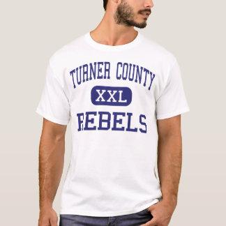 Turner County - Rebels - High - Ashburn Georgia T-Shirt