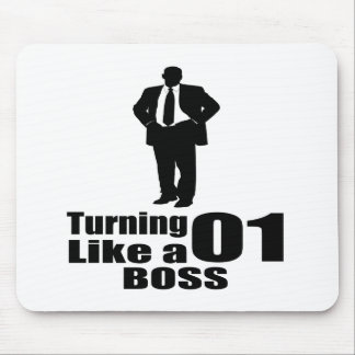 Turning 01 Like A Boss Mouse Pad