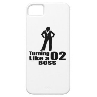 Turning 02 Like A Boss Case For The iPhone 5